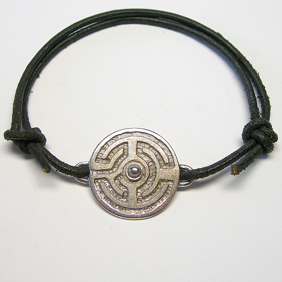 Rosengarten-Armband aus Silber mit Silber-Kugel