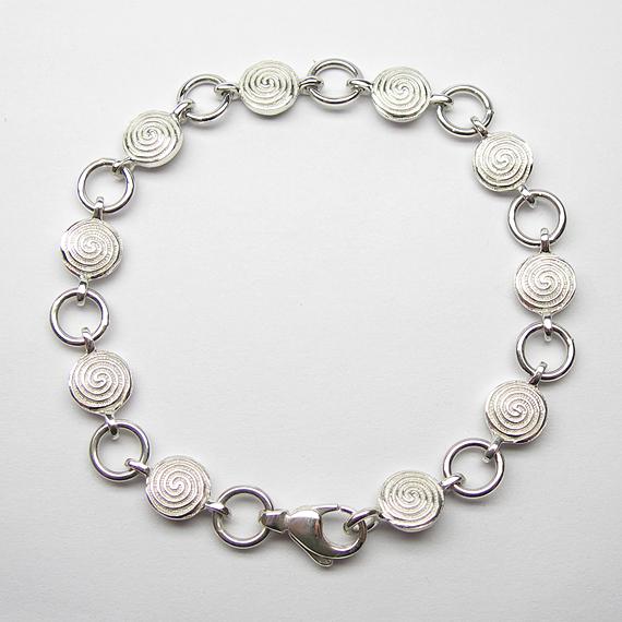 Nibelungen-Armkettchen aus Silber