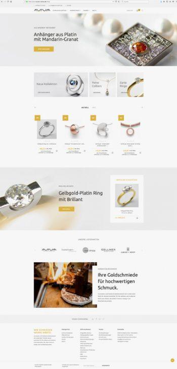 AURUM Schmuck Online-Shop