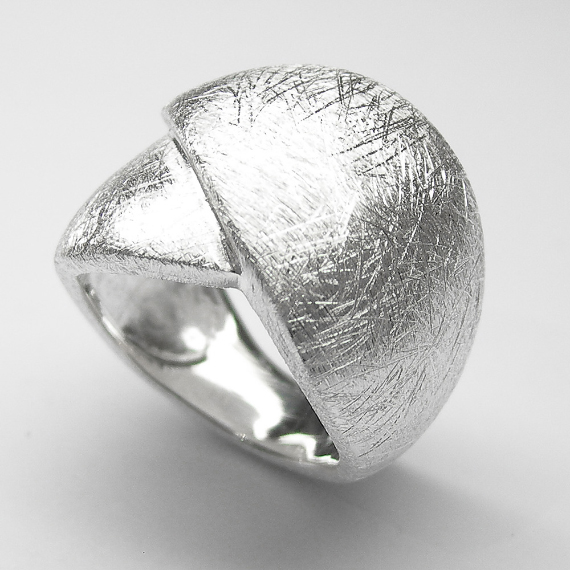 Silberring / Schmuckring im Knospen-Design